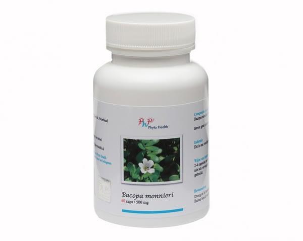 Phyto Health - Brahmi (Bacopa Monnieri) - 60 capsules - 500 mg
